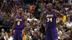 Los Angeles Lakersis jagas Bryant kaheksa hooaega väljakut Shaquille O'Nealiga. Kuigi duo suhted ei olnud alati roosilised, jääb nende ajastut kroonima three-peat ehk kolm järjestikust NBA meistritiitlit aastatel 2000, 2001 ja 2002.