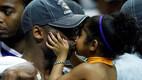 Kobe ja tütar Gianna pärast 2009. aasta tiitlivõitu Orlandos.