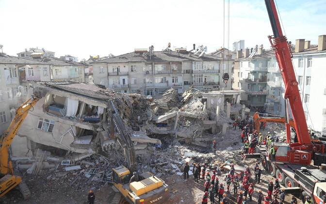 Maavärina tagajärg Elazigis.