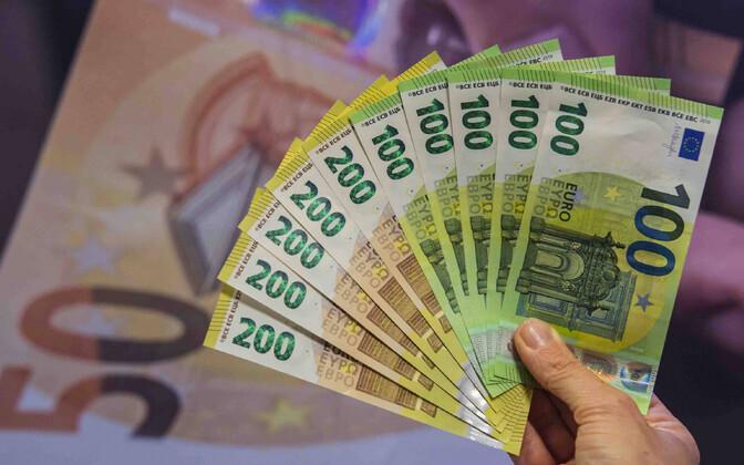 Sularaha 1500 eurot