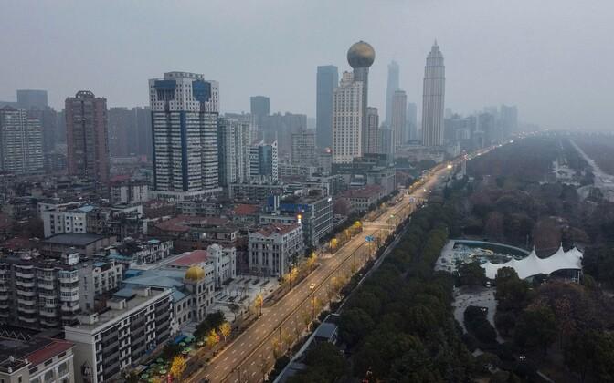 Wuhani linn Hubei provintsis.