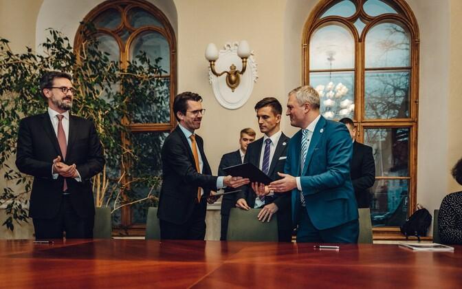 Denis Dumont ja Kalev Kallemets.