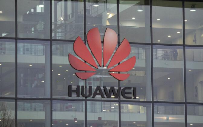 Huawei kontor Londonis.