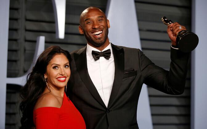 Vanessa ja Kobe Bryant