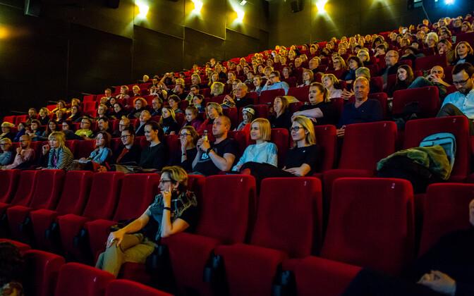 Посетители кинотеатра. Фото иллюстративное.