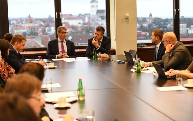 Arctic Council preperation meeting.