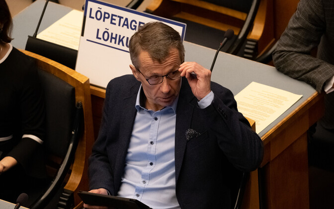 Reform MP and chair of the Riigikogu's state budget select committee Jürgen Ligi.