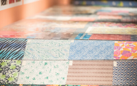 Mustrid: Kreenholmi tekstiilidisain 1963–2005