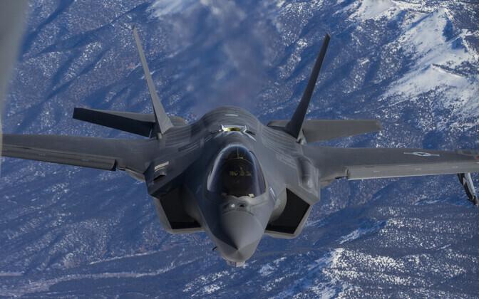 USA hävituslennuk F-35.