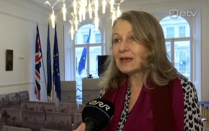 Estonian Ambassador to the U.K. Tiina Intelmann.