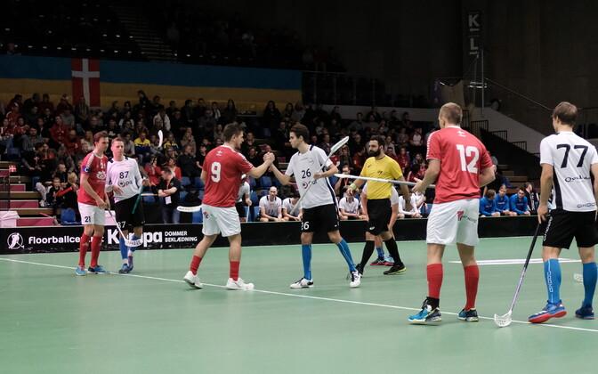 Eesti ja Taani omavaheline kohtumine MM-valikturniiril