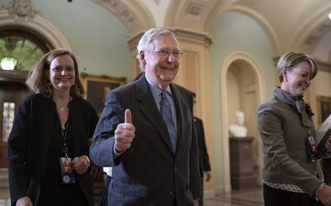 Senati enamuse liider Mitch McConnell.