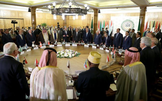 Araabia Liiga välisministrid Kairos.