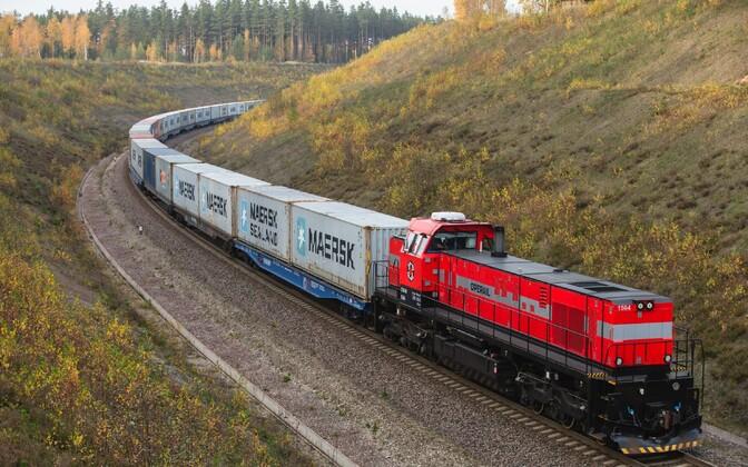Operail freight train.