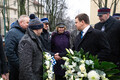 Placing of wreaths at the Tallinn Secondary Science School.