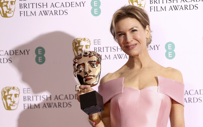 Renee Zellweger BAFTA auhinnaga