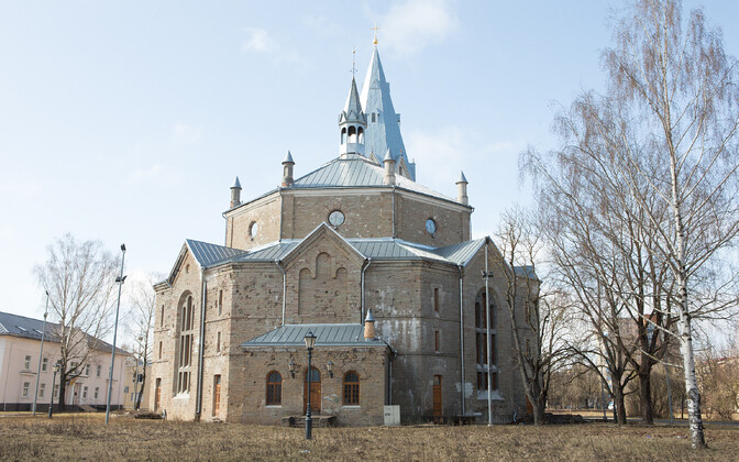 Narva Aleksandri kirik.