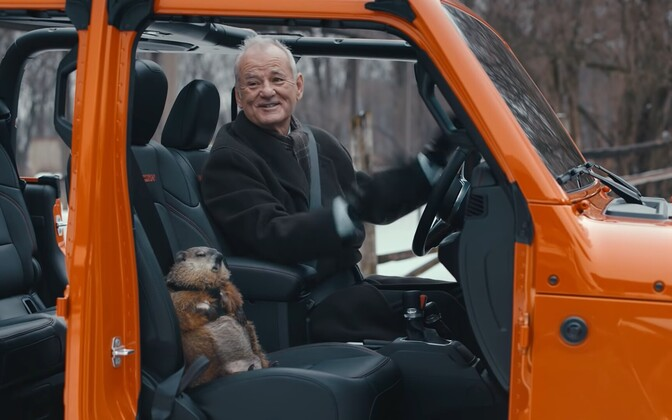 Bill Murray Jeepi reklaamis