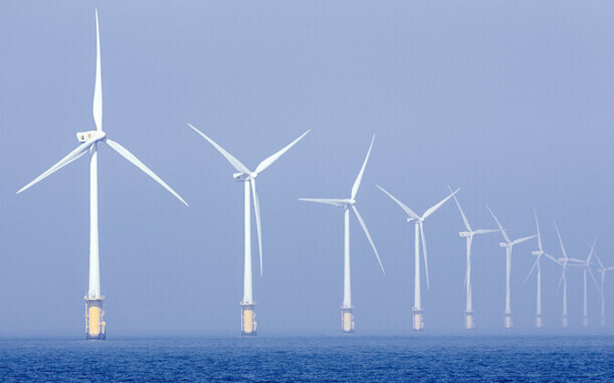 An offshore wind farm. Photo is illustrative.