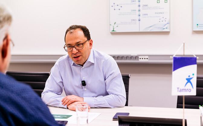 Toomas Sildami intervjuu Tamro Balticsi tegevjuhi Leon Jankelevitshiga.