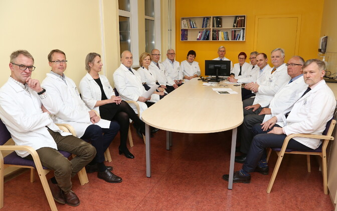Tartu Hospital clinic heads.