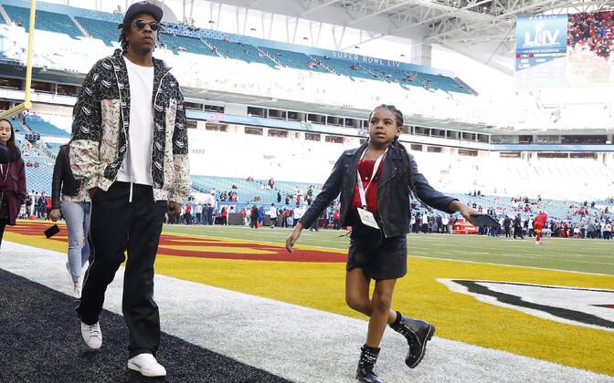 Jay-Z tütre Blue Ivyga
