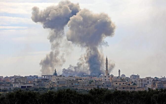 Pommitamine Idlibis.