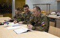Russian Arms Control Inspectors evaluate the 1st Infantry Brigade in Estonia.