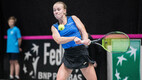 Fed Cup day one featuring Estonia against Greece.