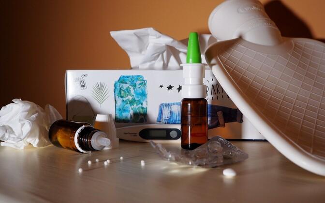 Ravimid gripi leevendamiseks