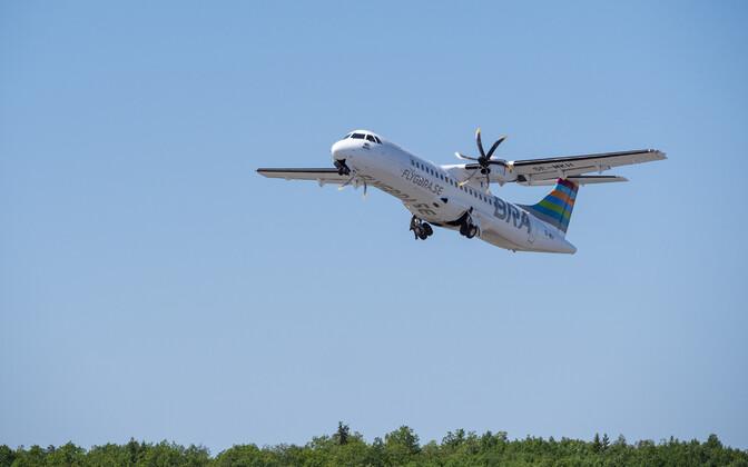 Линию будет обслуживать самолет, вмещающий 72 пассажира.