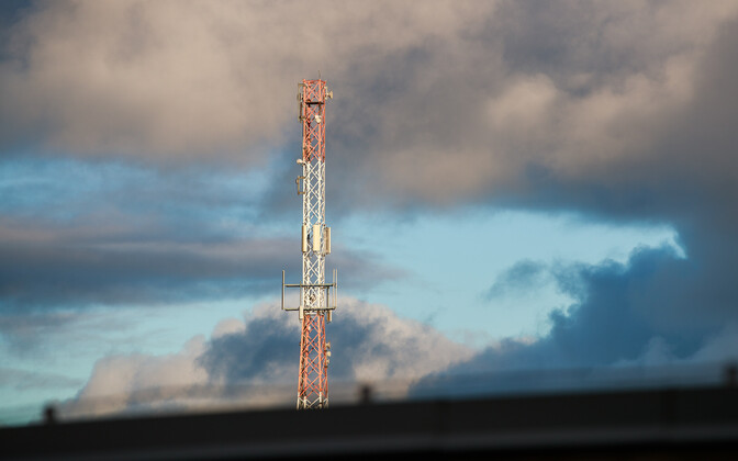 Telecomms mast (picture is illustrative).