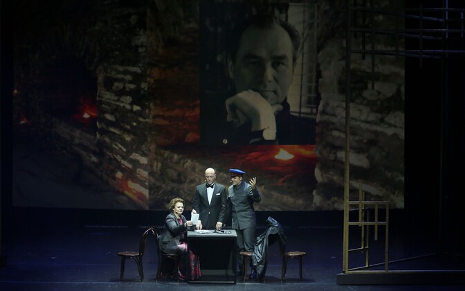 """Hetked """"Mr. Georg Ots"""" etendusest Moskva Helikon-Operas 2019. aasta septembris."""