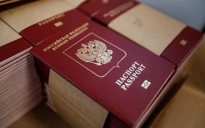 Venemaa passid.