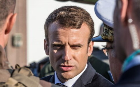 Президент Франции Эммануэль Макрон.