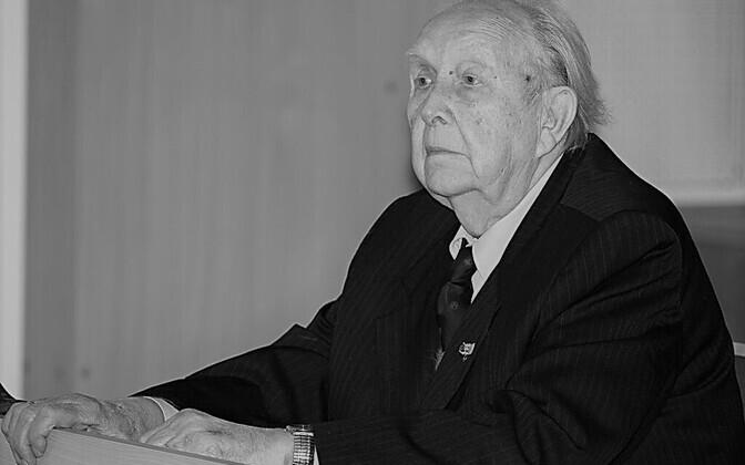 Akadeemik, Tallinna Tehnikaülikooli emeriitprofessor ja ehitusinsener Valdek Kulbach.