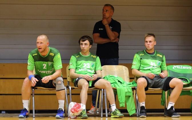 Kuuekordse Soome meistri Antti Rogenbaumi (vasakul) roll Aruküla/Audenteses on peatreener Martin Noodla sõnul väga väärtuslik.