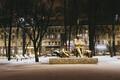 Снег в Таллинне.