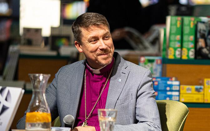Head of the Estonian Evangelical Lutheran Church (EELK) Archbishop Urmas Viilma at a recent book launch.