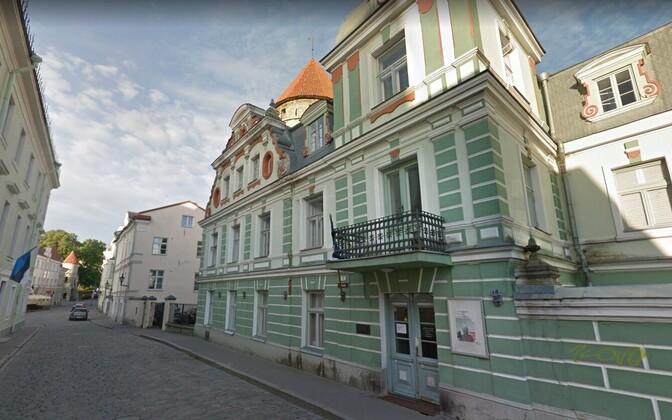 Дом кино на  улице Уус в Таллинне.