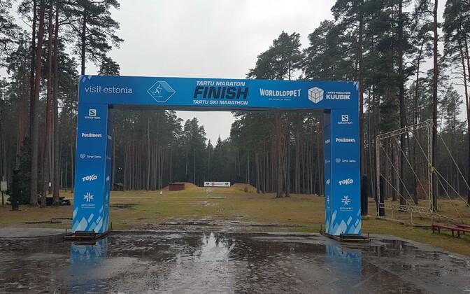 47-й Тартуский марафон отменен из-за дефицита снега.