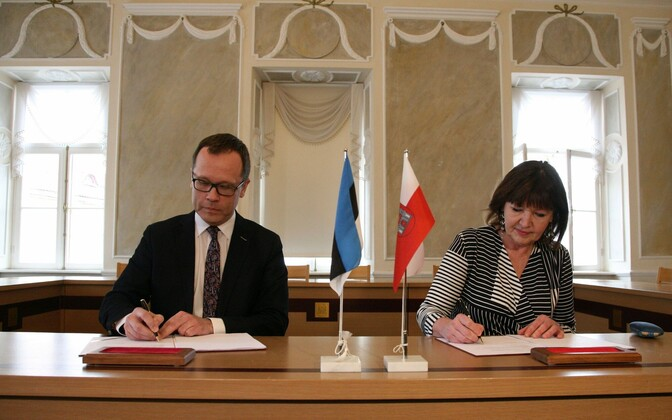 Coalition agreement in Tartu.