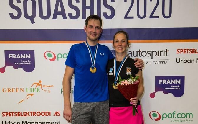 Eesti meistriteks tulid Kristjan Pettai ja Aliis Allas.
