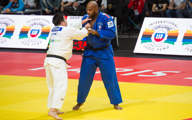 Kokoro Kageura ja Teddy Riner