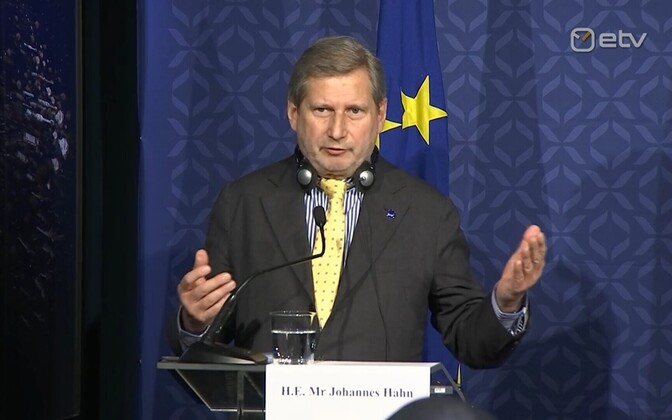 European Commissioner for Budget and Administration Johannes Hahn.