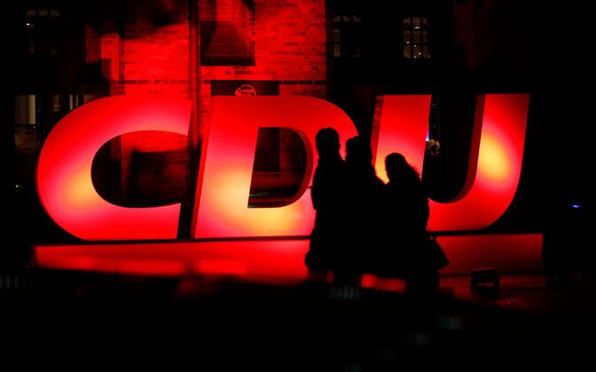 CDU konverents käesoleva aasta jaanuaris Hamburgis.