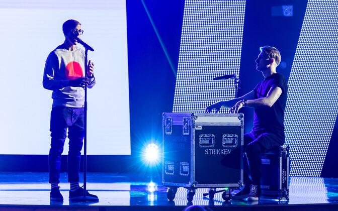 Первые репетиции Eesti Laul во вторник вечером.