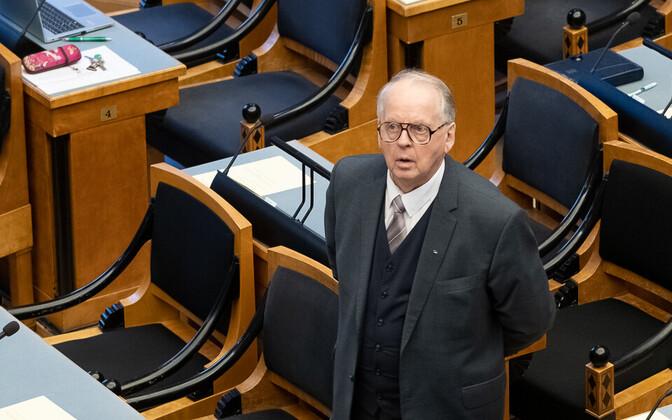 Riigikogu väliskomisjoni esimees Enn Eesmaa.