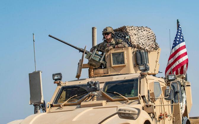USA väed Süürias, arhiivifoto.