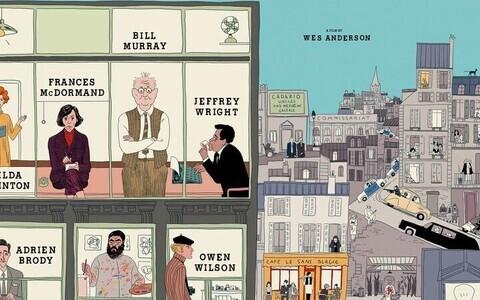 Постер нового фильма Уэса Андерсона
